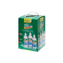 Opti-Free Replenish Pack Eco 3 X 300ml + 3 étuis
