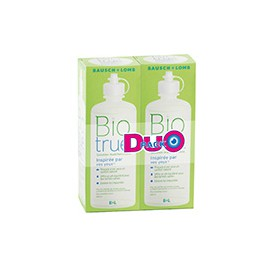 Biotrue Duo Pack 2 x 300 ml + 2 étuis