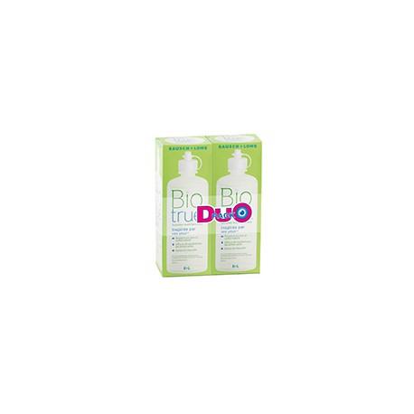 Biotrue Duo Pack 2 x 300 ml + 2 étuis