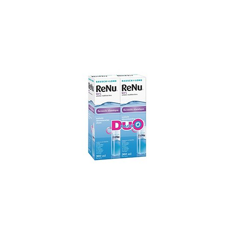 Renu MPS Duo Pack 2 x 360 ml + 2 Žtuis