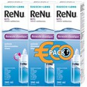 Renu MPS Pack Eco 3 x 360ml + 3 étuis