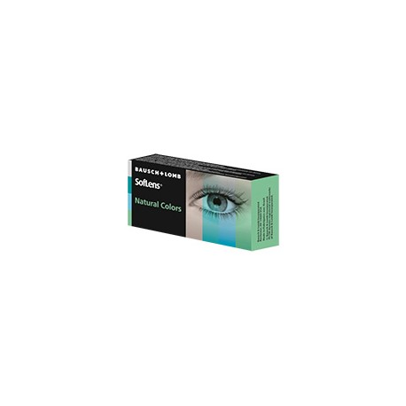 SofLens® Natural Colors AQUAMARINE - BOITE DE 2