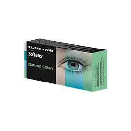 SofLens® Natural Colors EMERAUDE - BOITE DE 2