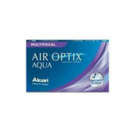 AIR OPTIX AQUA MULTIFOCAL AD Medium - Boite de 6 Lentilles