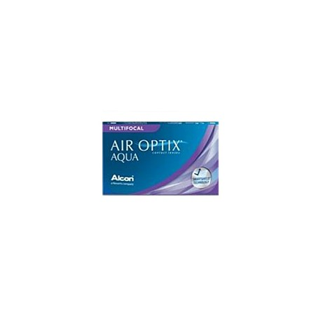 AIR OPTIX AQUA MULTIFOCAL AD Medium - Boite de 6 Lentilles