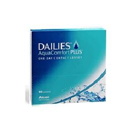 DAILIES AquaComfort Plus - Boite de 90 Lentilles
