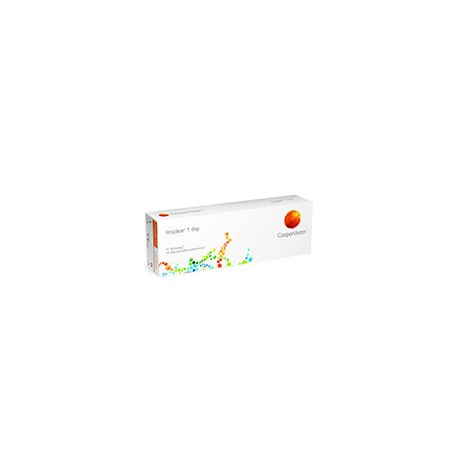 PROCLEAR® 1 Day - Boites de 30 lentilles